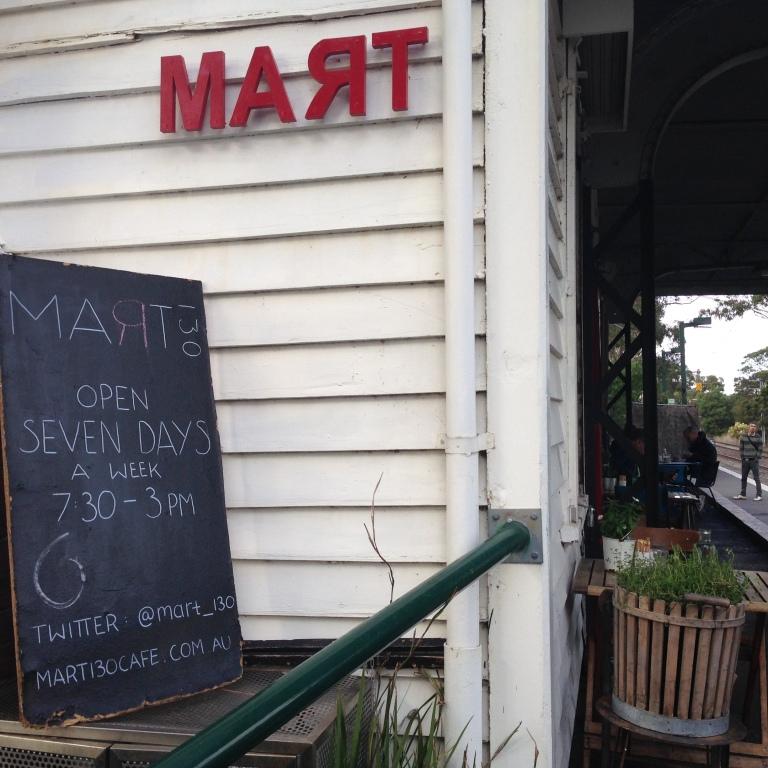 mart130 cafe, albert park