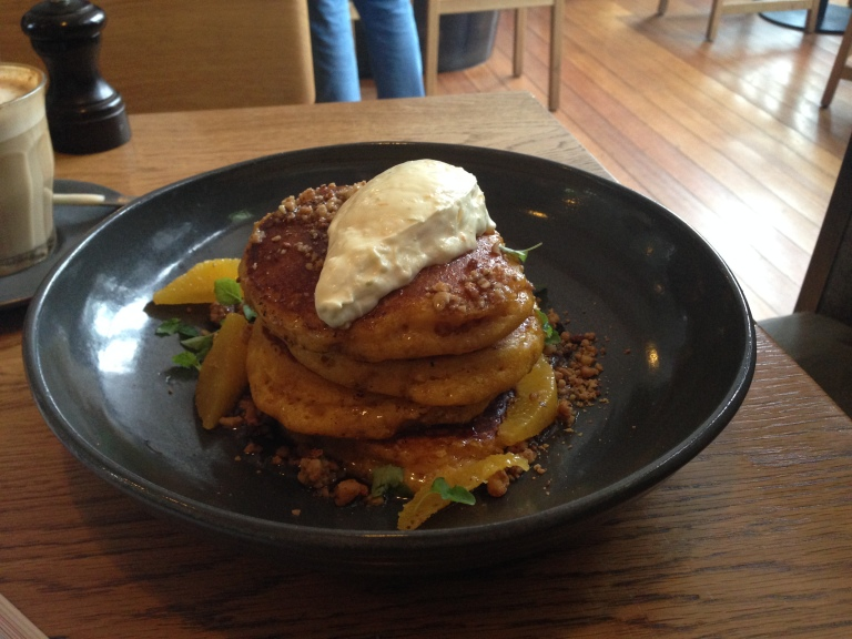pumpkin pancakes, fifty acres