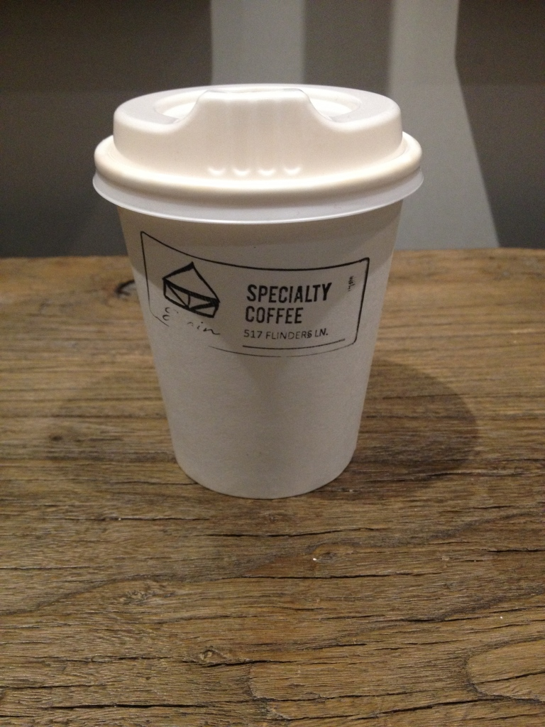 takeaway latte, the grain store