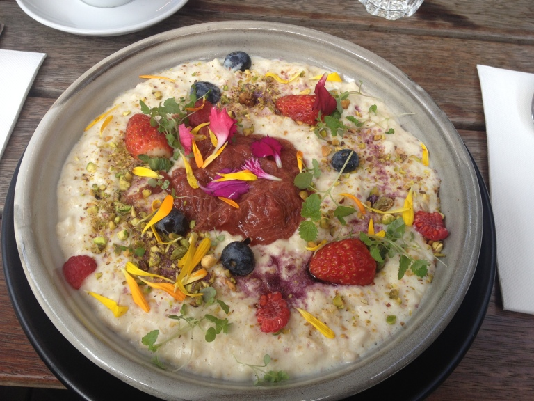 porridge, top paddock