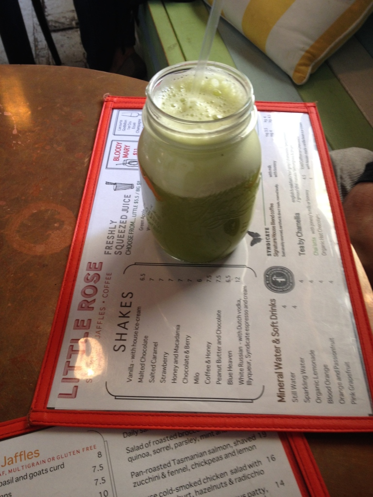 juice in a jar, little rose diner