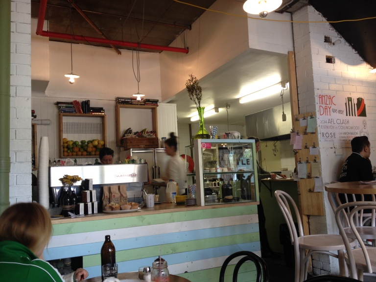 little rose diner, port melbourne