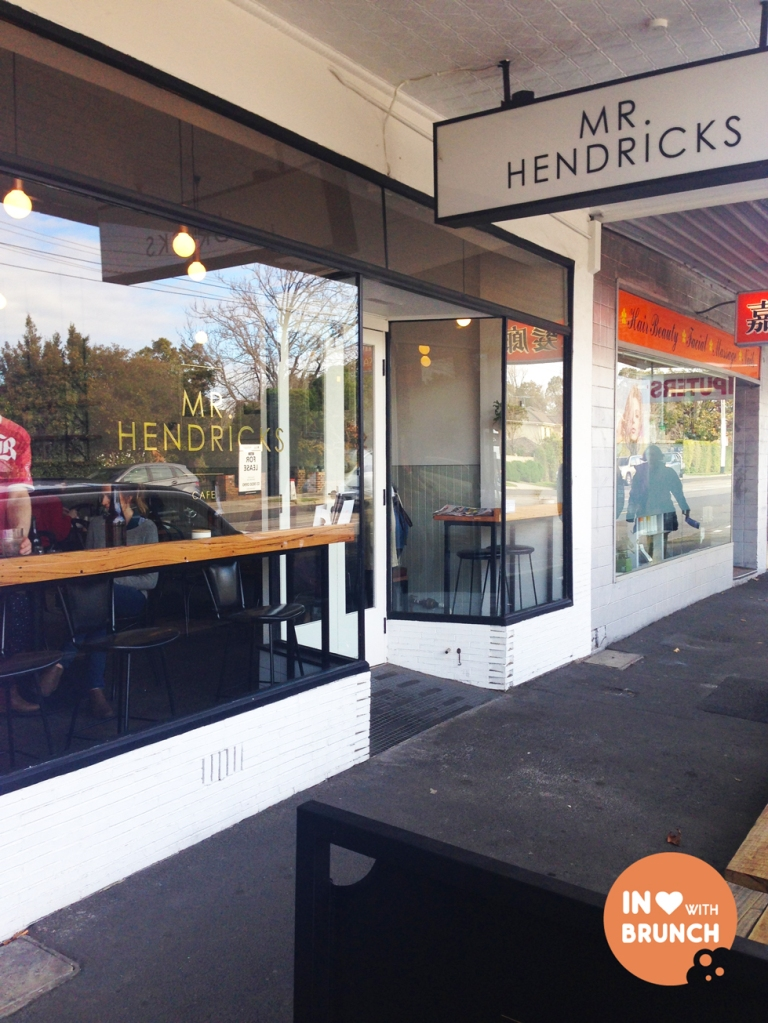 Mr Hendricks Cafe Balwyn Whitehorse Rd