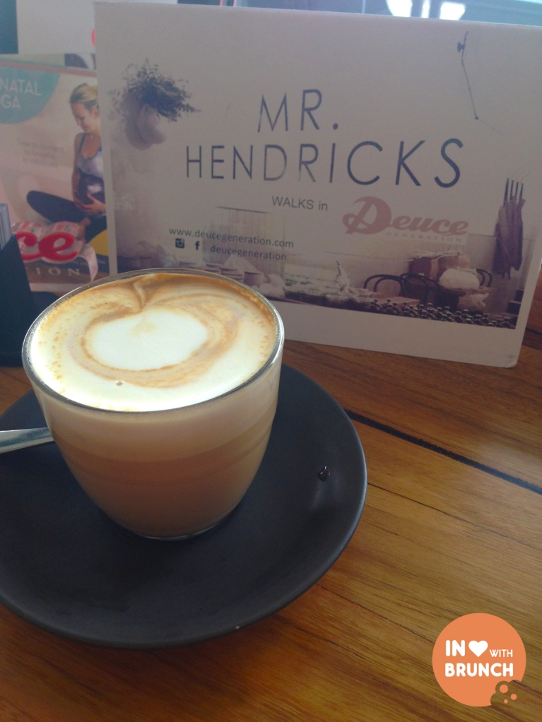 Mr Hendricks Soy Latte Whitehorse Rd