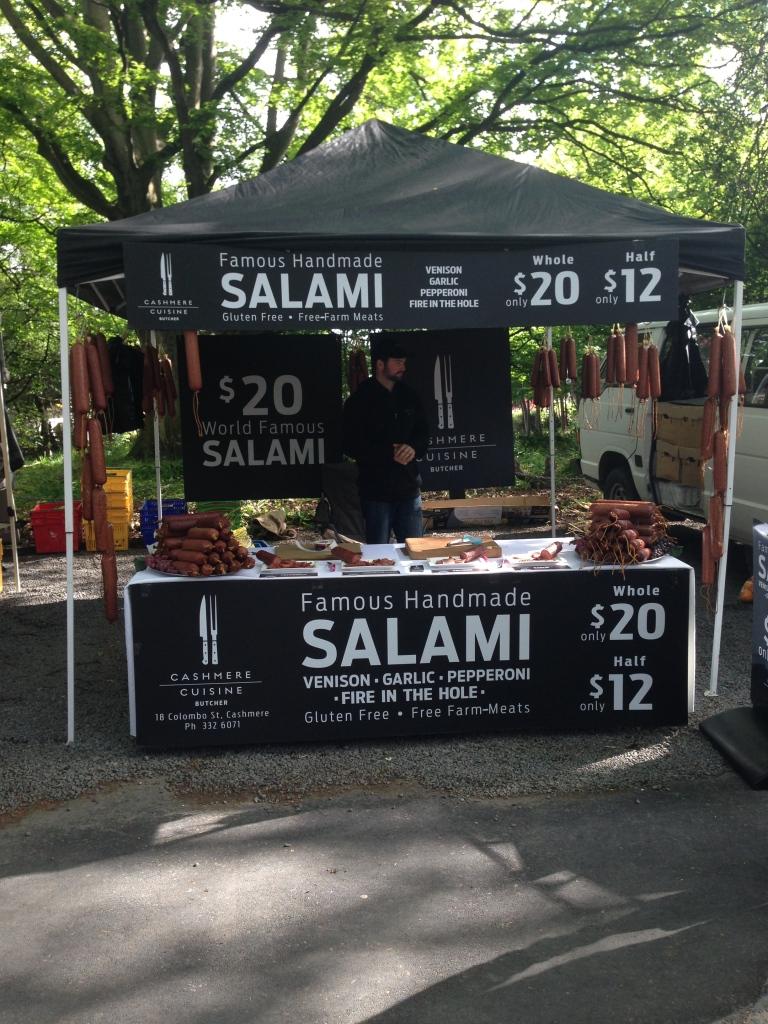 salami, chc farmers market