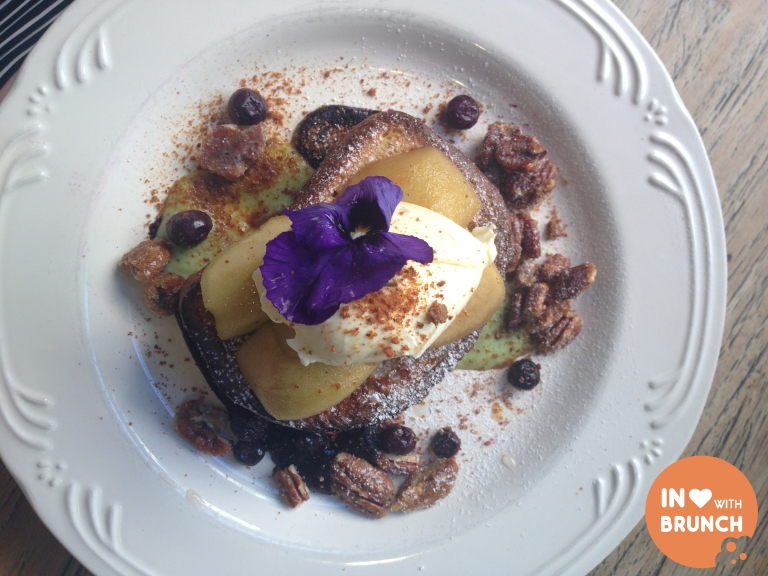 inlovewithbrunch Chez Dre South Melbourne FRENCH TOAST