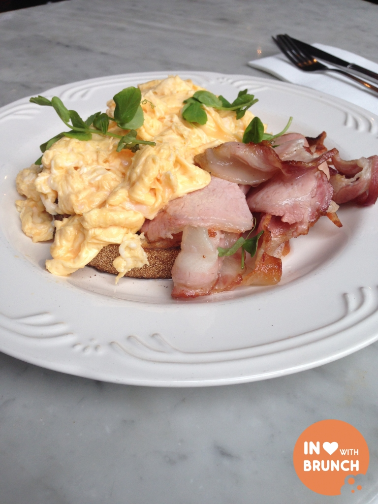 inlovewithbrunch Chez Dre South Melbourne SCRAMBLED EGGS
