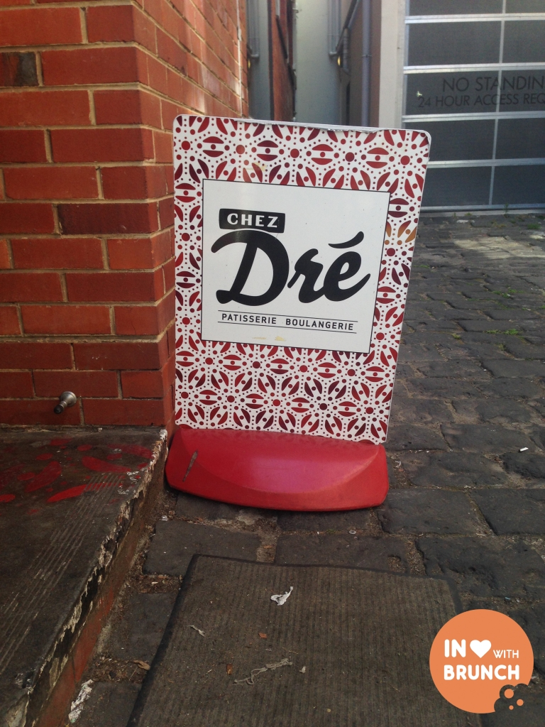 Chez Dre South Melbourne ST SIGN