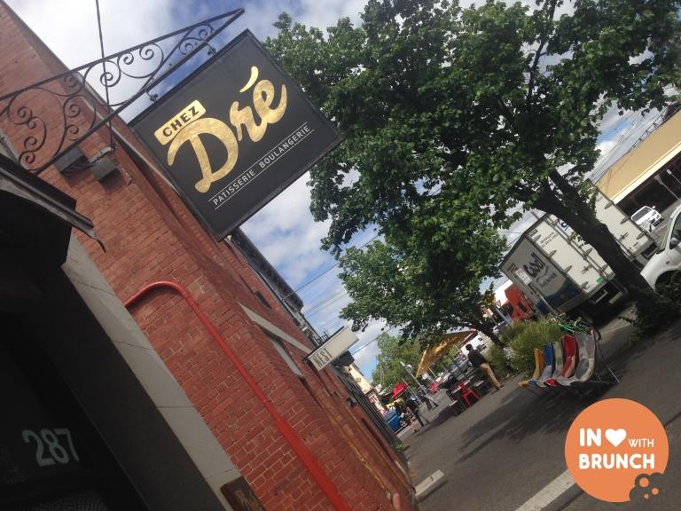 inlovewithbrunch Chez Dre South Melbourne WALL SIGN
