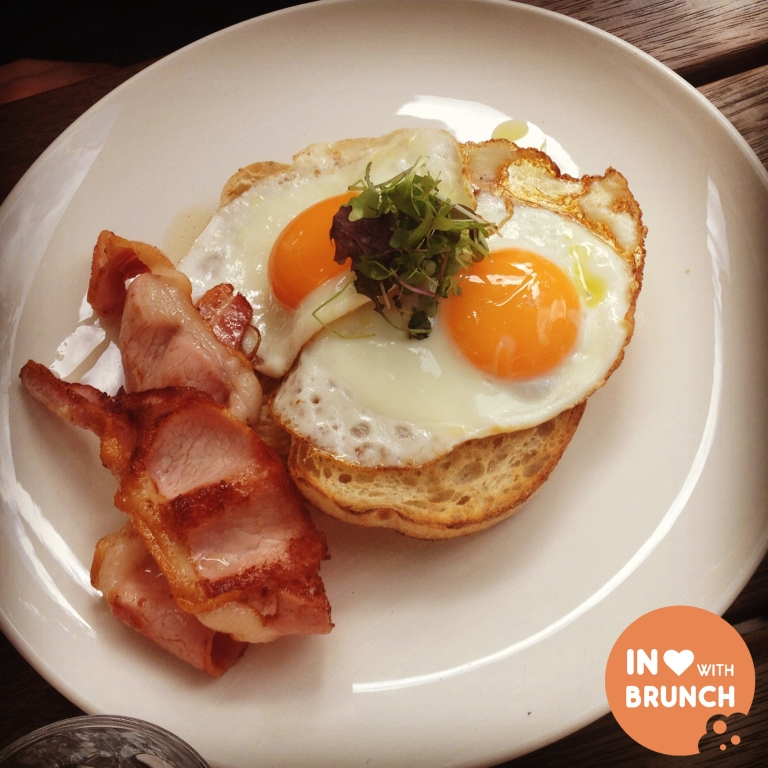 inlovewithbrunch Top Paddock Richmond FRIED EGGS BACON