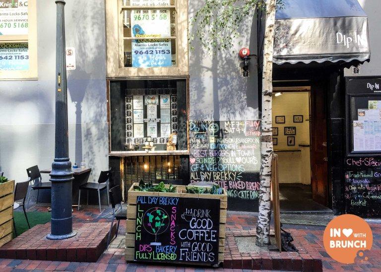 Dip In Cafe Melbourne Exterior McKillop