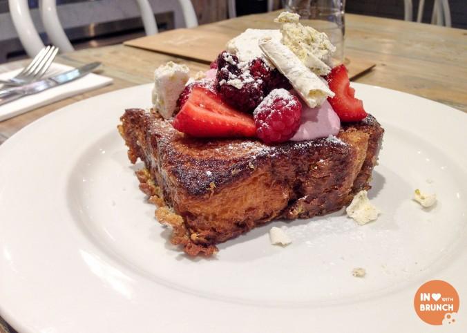 Hardware Societe French Toast Melbourne Strawberry Cheesecake