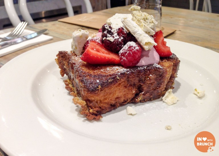 Hardware Societe French Toast Melbourne Strawberry Cheesecake