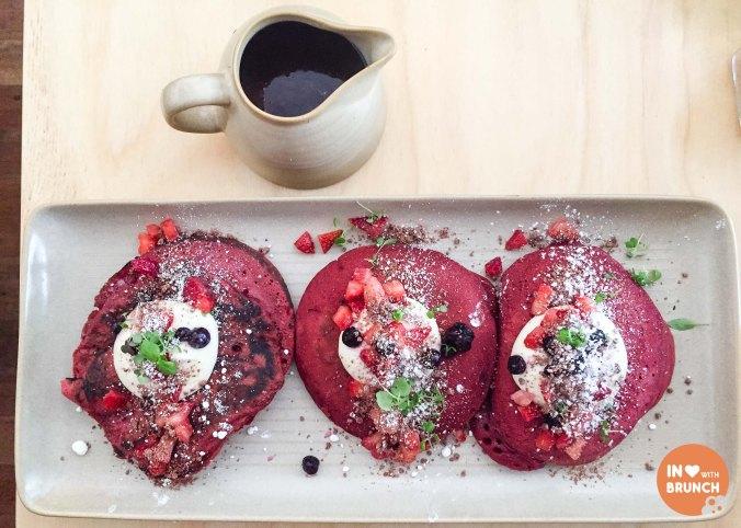 Muharam Hawthorn Red Velvet Pancakes 2