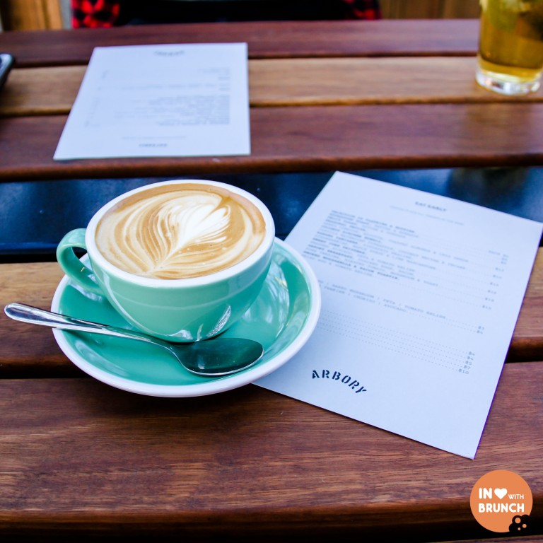 Arbory Eatery Melbourne Stay Awhile Flat White