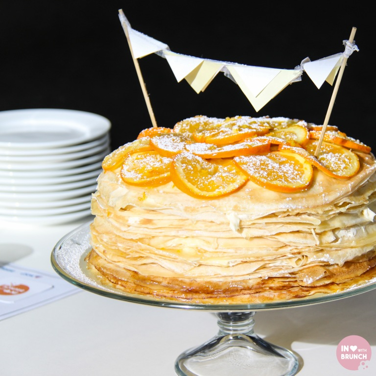 Orange Creme Crepe Cake (1 of 1)