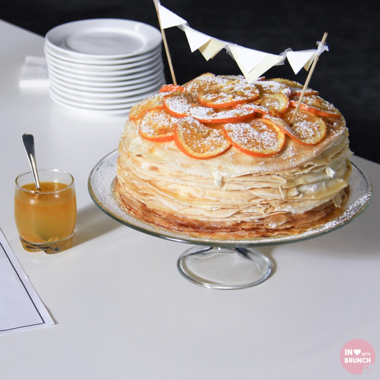Orange Creme Crepe Cake with Sauce 2 (1 of 1)