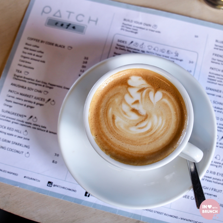 Patch Richmond Paleo Code Black Coffee Flat White 2 (1 of 1)