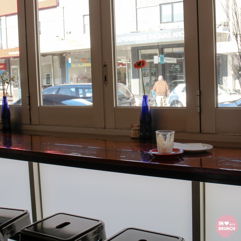Two Kings Bentleigh Flat White Interior window seat (1 of 1)