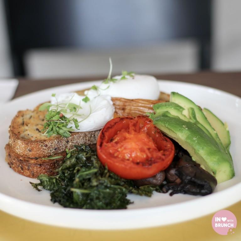 Darling Cafe South Yarra Veggie Breakfast (1 of 1)