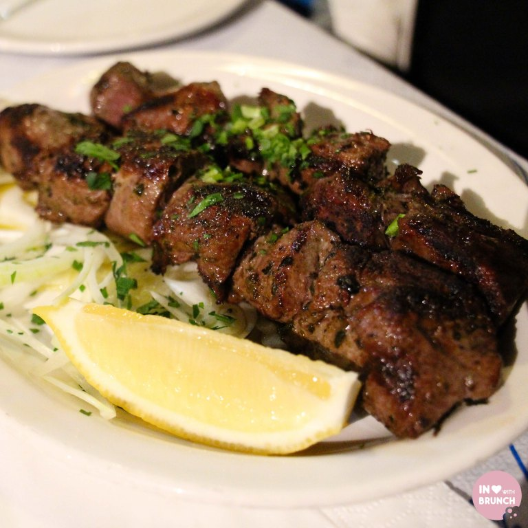Jims Greek Tavern Lamb Kebab (1 of 1)