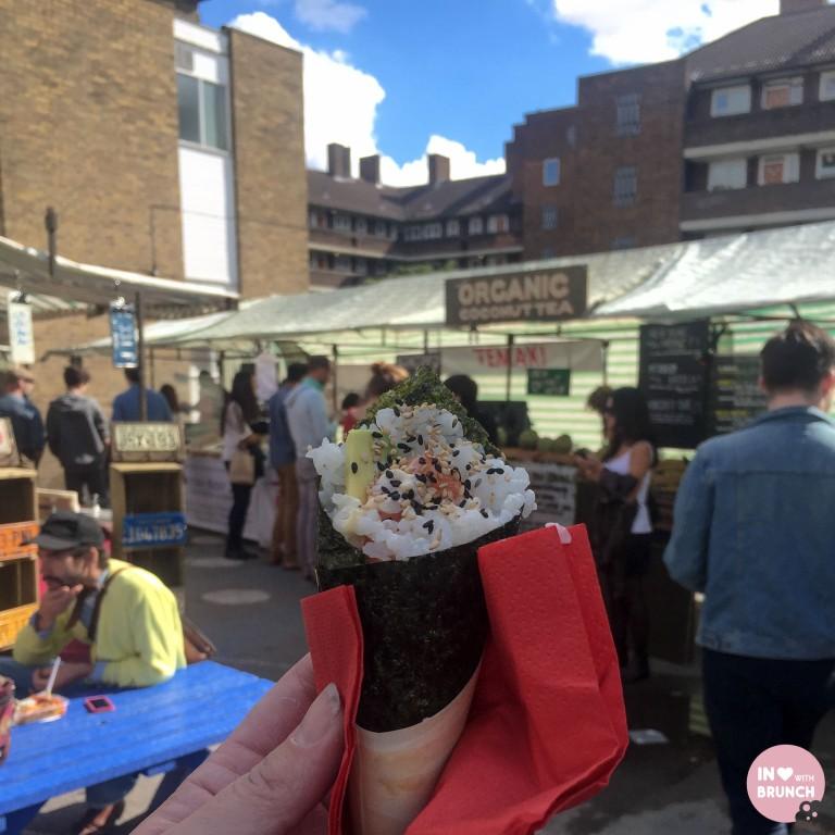 London Broadway Markets Sushi (1 of 1)