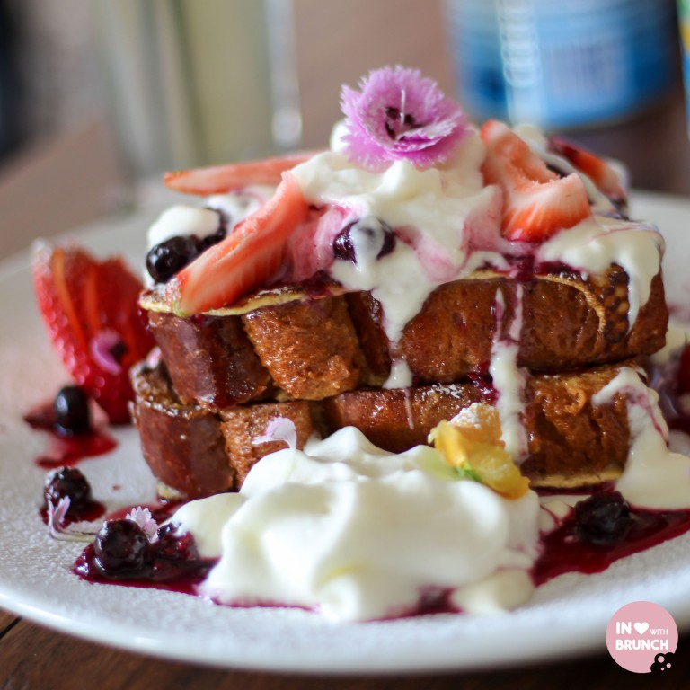 Son of a Pizzaiolo Brioche French toast