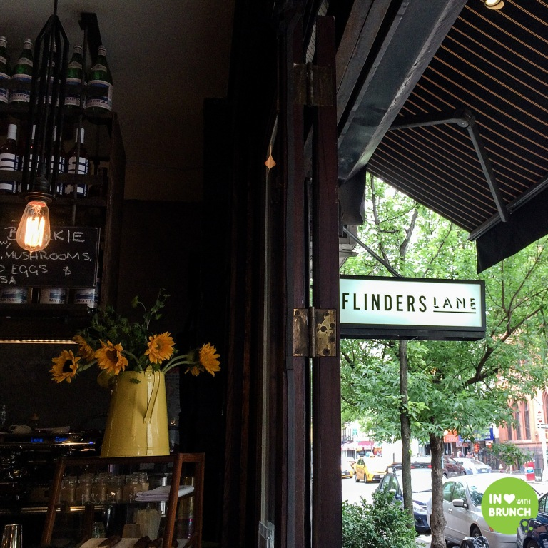 New York Flinders Lane NYC sign2